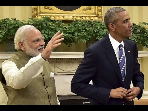 President Obama & PM Narendra Modi Joint Press Statement on India's Entry in NSG & Cyber Security