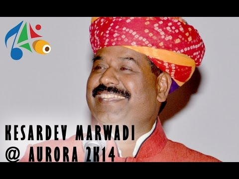 Kesardev Marwadi Performing At Aurora 2k14, Abv-iiitm Gwalior video