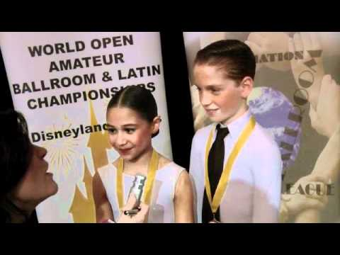 2010 WDC AL World Championship- WC Juv U12 Latin  - restr syllabus-  Winners Interview