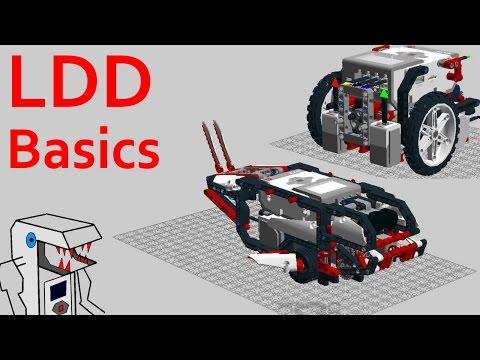 LDD Basics - Getting Started with LEGO Digital Designer