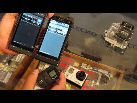 Tutorial GoPro Hero 3 aplicacion app android wifi TecnoJapan Argentina