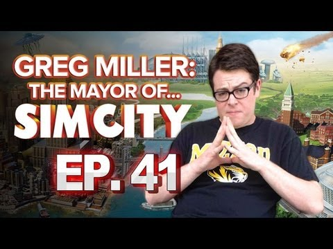 Greg Miller: Mayor of SimCity - IGN Plays SimCity: I'm an Oil Tycoon No. 41