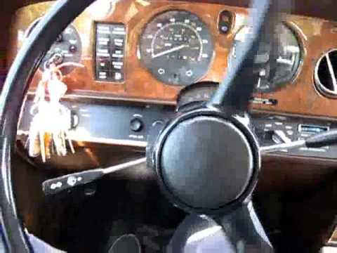 FS: 1981 Rolls Royce Silver Spirit Test Drive Video