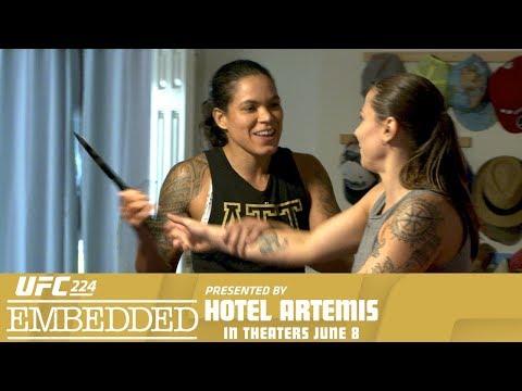 UFC 224 Embedded: Vlog Series - Episode 1