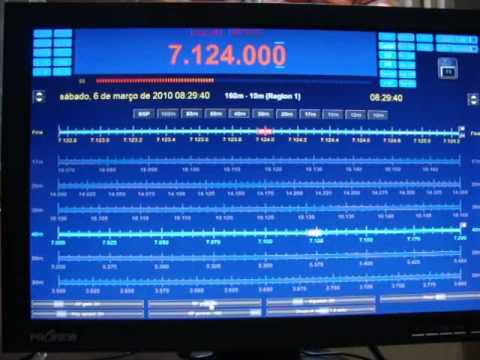 IC-718 E HAM RADIO DELUXE.wmv