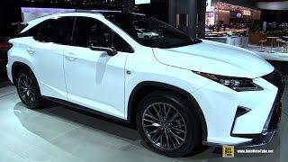 2016 Lexus RX350 F-Sport - Exterior and Interior Walkaround - Debut at 2015 New York Auto Show