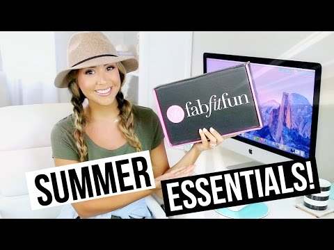 Fab Fit Fun Unboxing | Beauty, Fashion & Lifestyle!!
