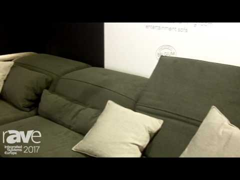 ISE 2017: Cineak Showcases Gramercy Living Room Couch