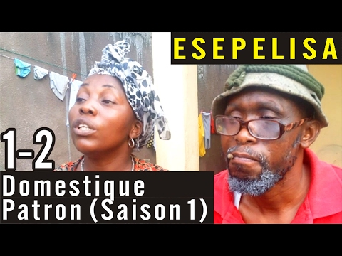 Domestique Patron 1-2 (Saison 1) -  Nouveau Theatre Congolais 2016 Modero Kalunga Sundiata Esepelisa