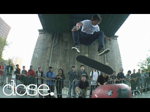 Koston, P-Rod, Malto, Janoski & Nike SB Team Skate NYC 2012