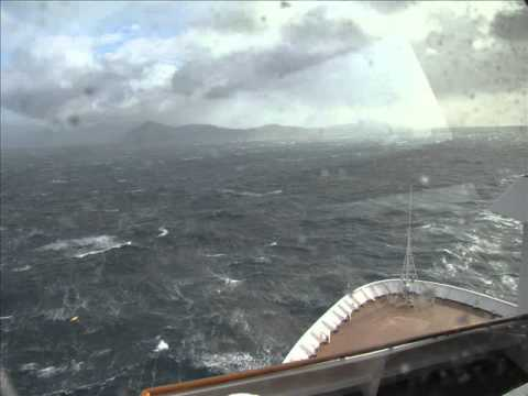 Cape Horn In Storm East To West On Msamsterdam 2009 Wmv