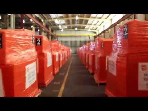 Footage: Medical Facility Modules, Ebola Response, Liberia -- Direct Relief