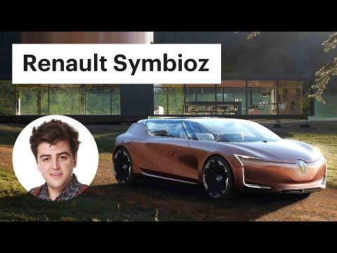 Обзор машины из будущего - Renault Symbioz (Рено Симбиоз)