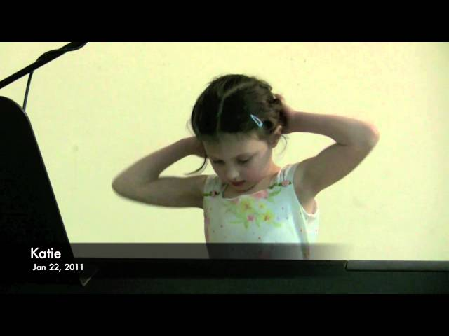 Katie's Winter Piano Recital 2011