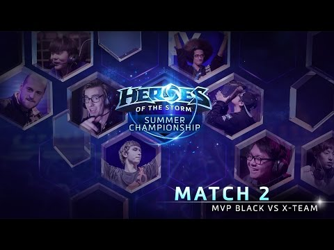 MVP Black Vs X-Team - Game 1 - Group A - Global Summer Championship