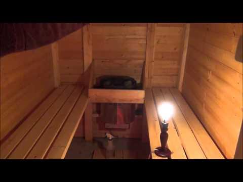 Построить сауну в доме видео