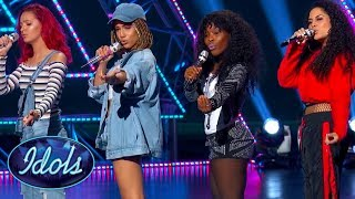 TOO HOT! 'DON'T TOUCH' American Idol Girl Group SMASH Audition! Idols Global