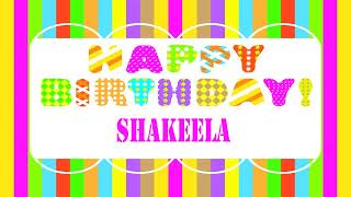 Shakeela   Wishes & Mensajes - Happy Birthday