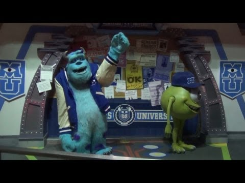 Mike Wazowski and Sulley from Monsters University Meet During Monstrous Summer All-Nighter