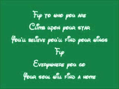Tinker Bell-fly To Your Heart Lyrics video