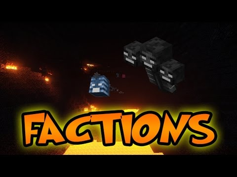 Minecraft SOLO FACTIONS #12 WITHER KILLERS w JeromeASF