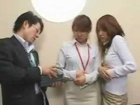 Stuck In Elevator With 8 Japanese Girls video