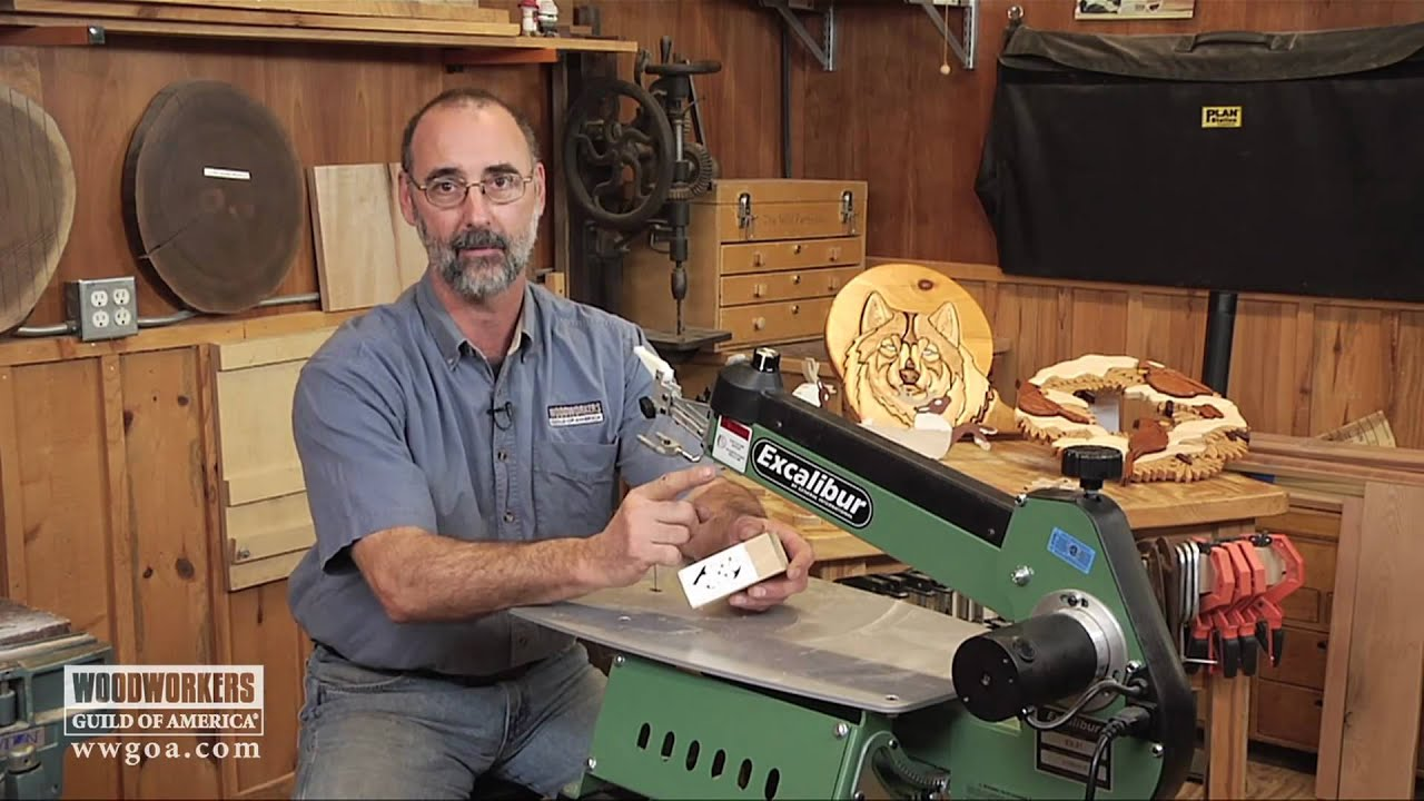 Woodworking: Power Tools - Why You Need a Scroll Saw - YouTube