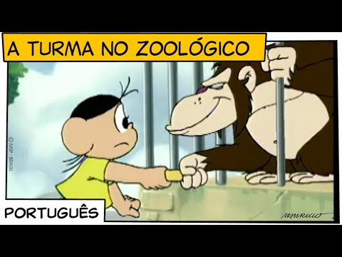 A Turma no zoológico (1998)   Turma da Mônica