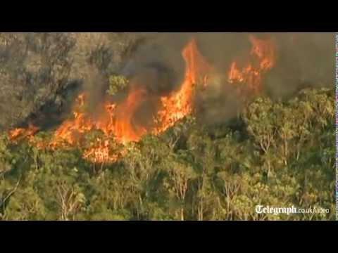 Australian heatwave sparks fires in Sydney