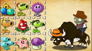 Plants Vs Zombies 2 Toro Legendario de Rodeo Vs Todas Las Plantas