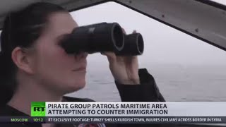 Swedish Pirates: Far-right 'guards' control maritime area to counter immigration