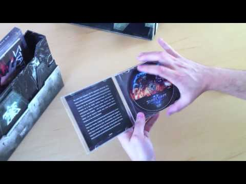 StarCraft II Collectors Edition Unboxing (HD)