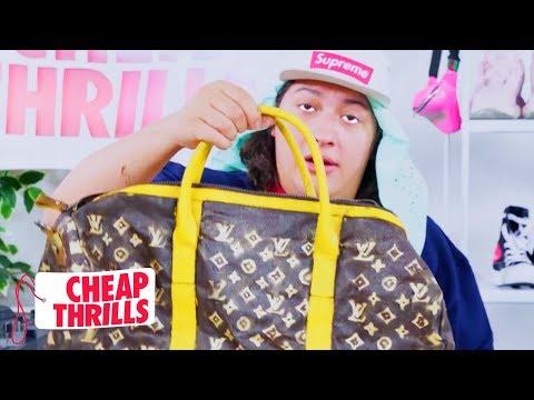 D.I.Y. Louis Vuitton Luggage | Cheap Thrills