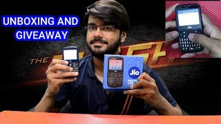 JIOPHONE 2 UNBOXING AND GIVEAWAY, CAMERA, DUAL SIM, FEATURES| UNBOXING # 14