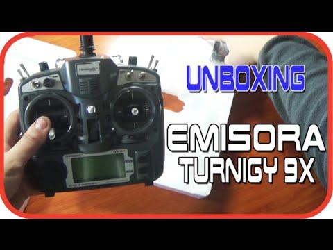 Emisora TURNIGY 9X - FlySky Th9x en Español   Unboxing y primeras impresiones