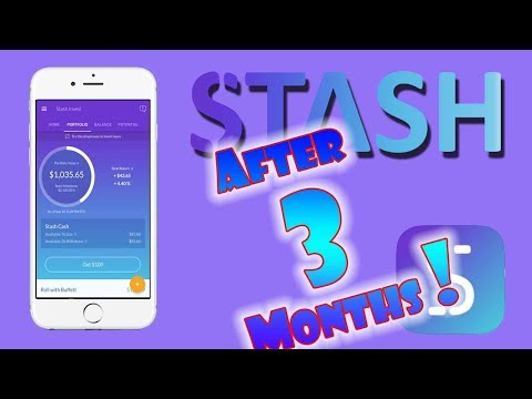 STASH INVEST APP   3 MONTH REVIEW of ALL Options!