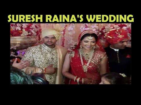 Suresh Raina's WEDDING | Dhoni, Salman, Lara