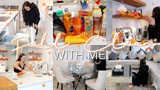 FALL CLEAN WITH ME! // EXTREME CLEANING MOTIVATION - ALL DAY CLEAN WITH ME 2019!