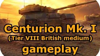 Centurion Mk. I Gameplay (Tier VIII British medium) (World of Tanks Xbox)