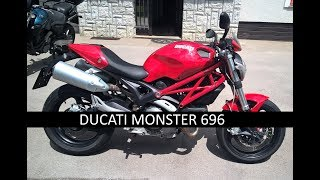DUCATI MONSTER 696 2009 | GOPRO HERO 4 black HD