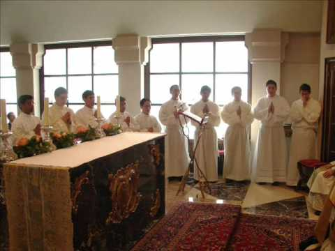 ADMISSION TO HOLY ORDERS -BR.FRANCIS GEORGE FROM THE DIOCESE OF QUILON