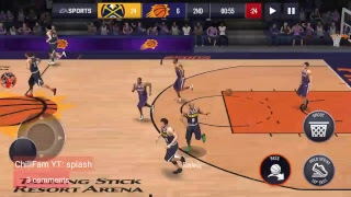 NBA LIVE MOBILE 91 NO MONEY SPENT TRIES TO GO UNDEFEATED WITH ALL SILVERS!!!