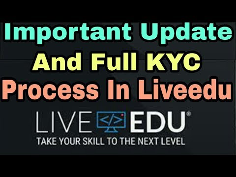 LiveEdu Full Step By Step KYC Process || Must Do To Receive Tokens In Wallet || (Hindi/Urdu)