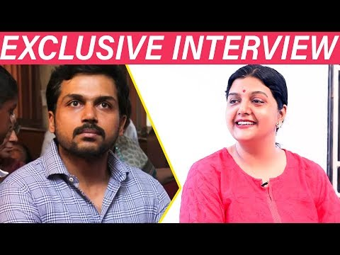 """Karthi is a great Actor BUT.....""- Bhanupriya Opens up 