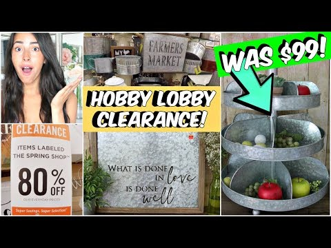 CLEARANCE HOBBY LOBBY COME WITH ME/HAUL
