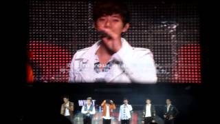 20121215  2PM Live Tour in Taipei 10後場談話