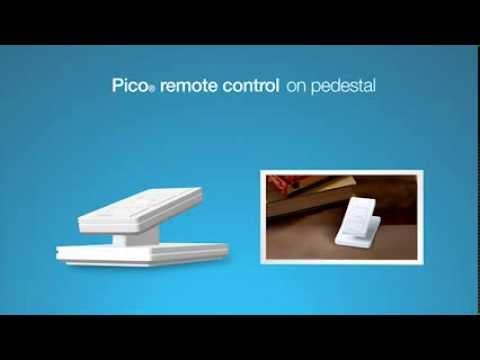 Lutron Pico Remote Accessory - Tabletop Pedestal L-PED1-WH