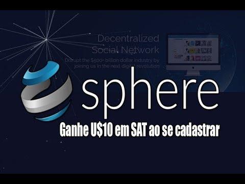 Sphere-Ganhe U$10 em Moeda SAT ao se cadastrar e (200 SAT) a cada indicado! #1