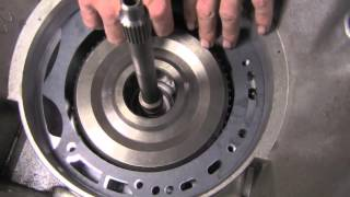 Trans rebuild part 14  Pump & Input shaft