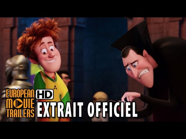 Hôtel Transylvanie 2 Extrait 'Bluetooth' VF (2015) HD